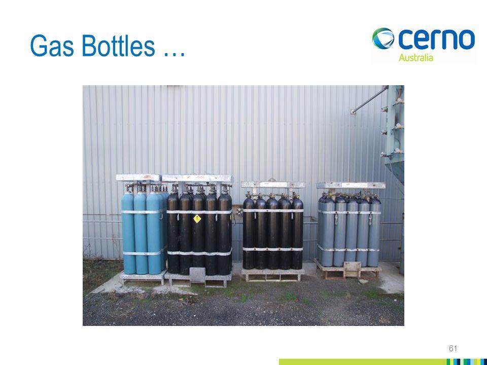 Gas Bottles … 61
