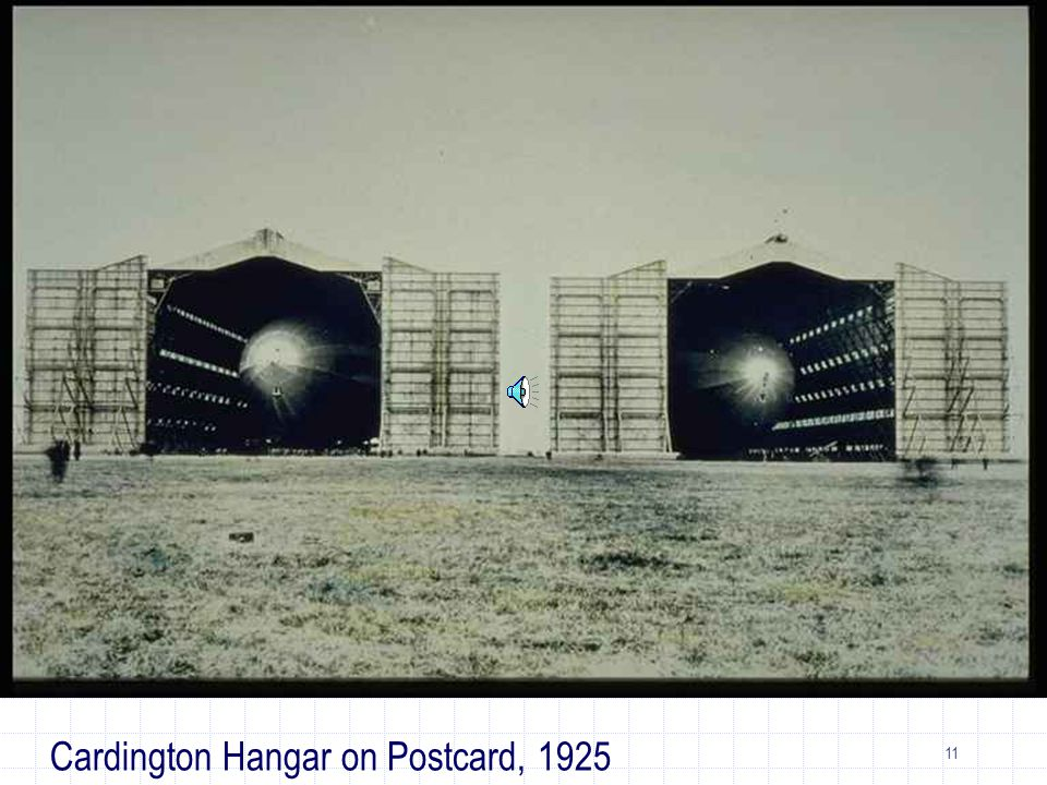 11 Cardington Hangar on Postcard, 1925