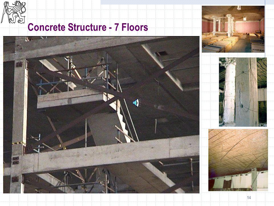 14 Concrete Structure - 7 Floors