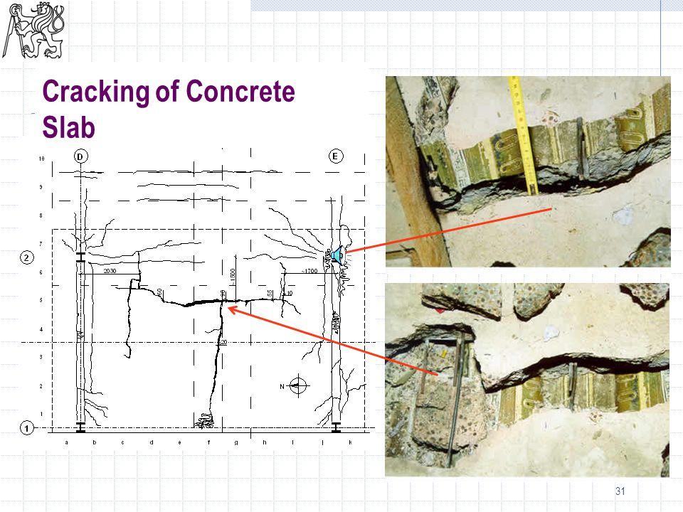 31 Cracking of Concrete Slab