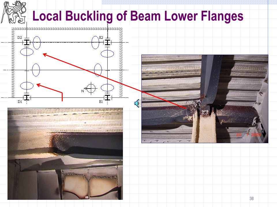 38 Local Buckling of Beam Lower Flanges