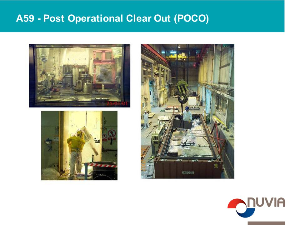 A59 - Post Operational Clear Out (POCO)