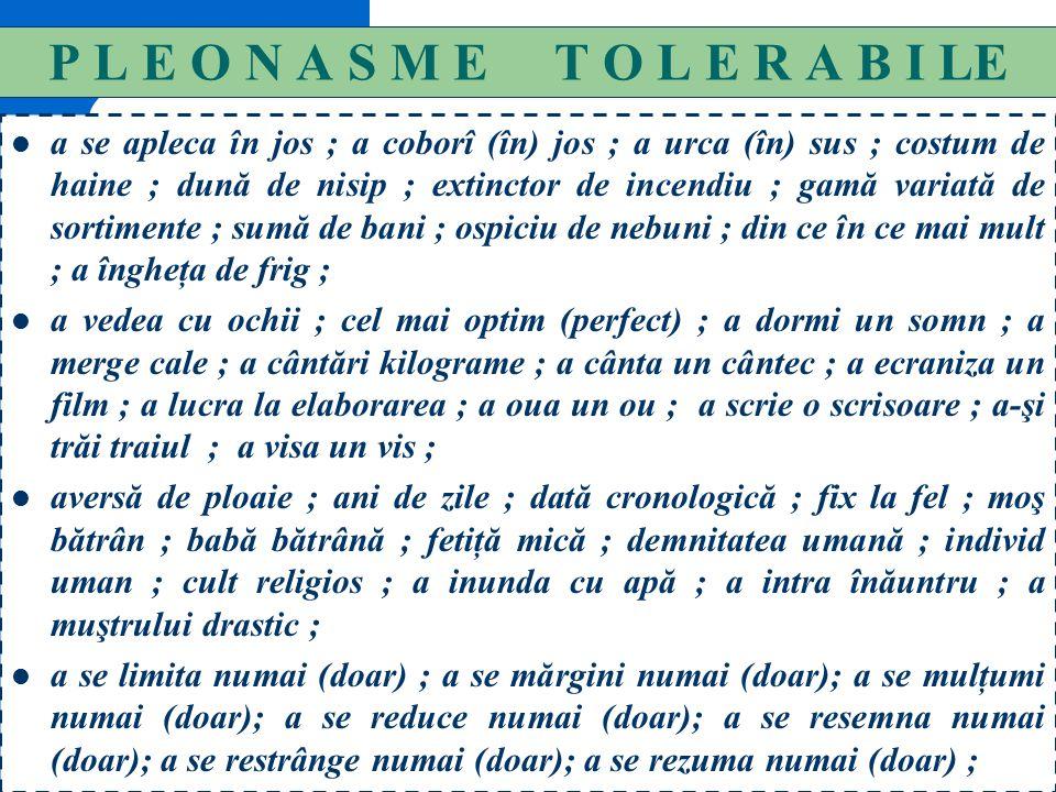 144 SENSUL PARONIMELOR ENUMERATE 14 Umeral = adj.= de la umăr, al umărului. Umerar = subst.= umeraş; protecţie fixată pe umeri ; Ubicuitate = subst.=