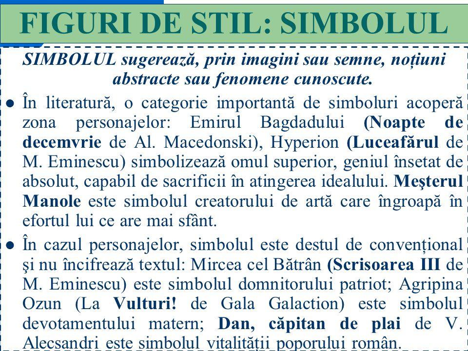47 FIGURI DE STIL: OXIMORONUL OXIMORONUL este o figură de stil care exprimă o ironie subtilă sau un adevăr usturător, sub forma asocierii paradoxale a