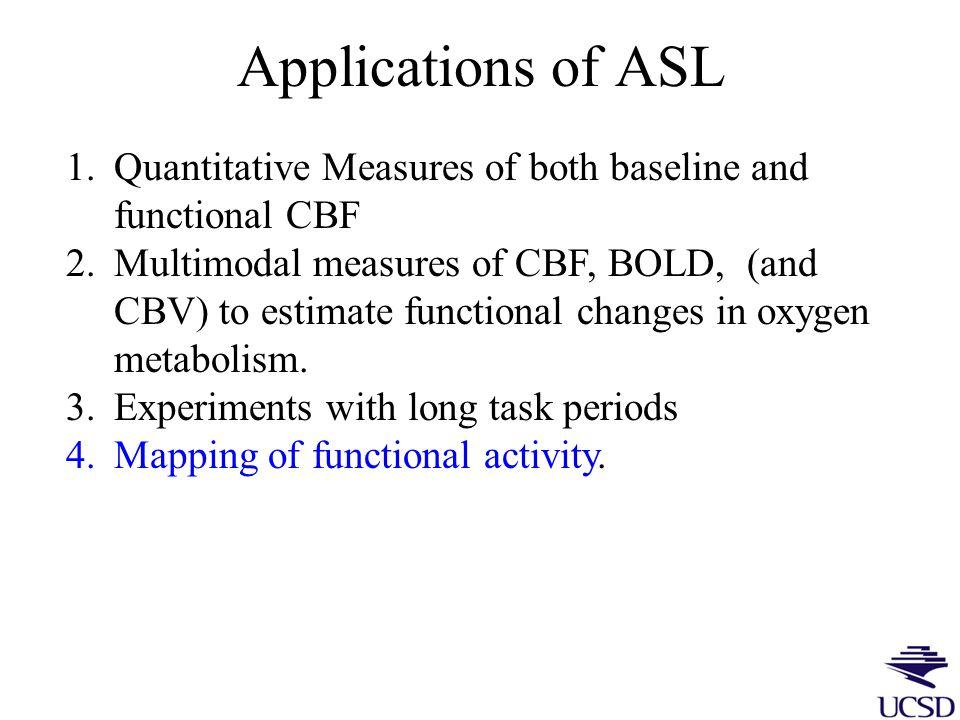 ASL Imaging of Stress- Wang et al., PNAS 2005