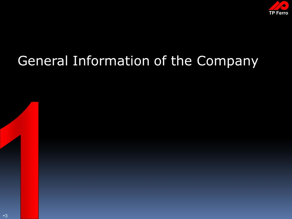 3 General Information of the Company