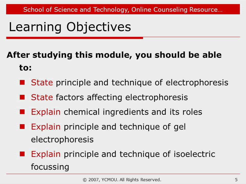 School of Science and Technology, Online Counseling Resource… Electrophoresis:1  Electrophoresis is the most known electrokinetic phenomenon.