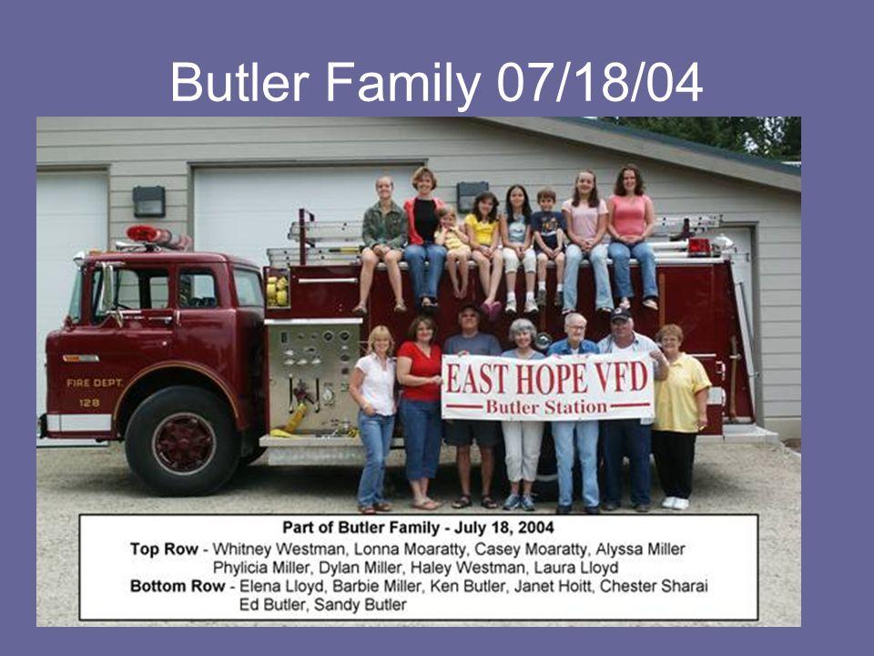 Butler Family 07/18/04