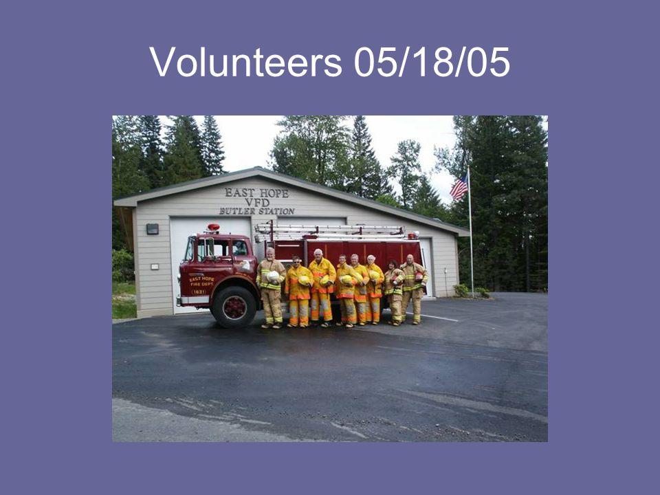 Volunteers 05/18/05