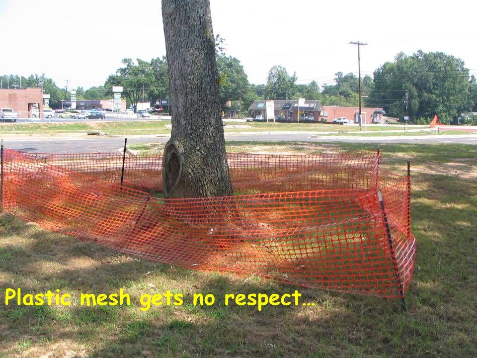Plastic mesh gets no respect…