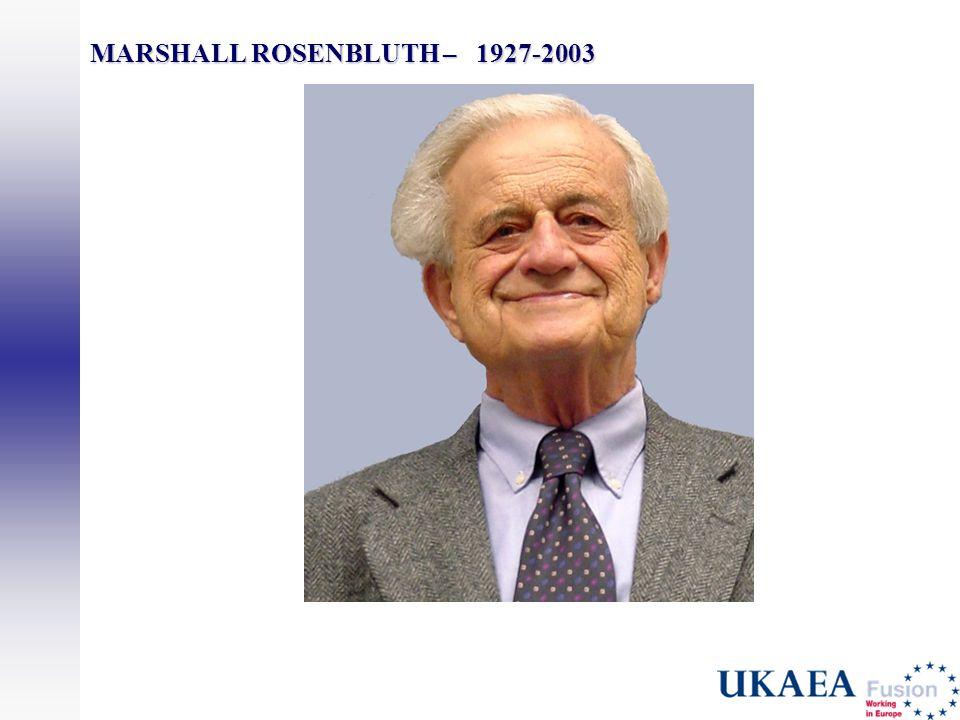 MARSHALL ROSENBLUTH – 1927-2003