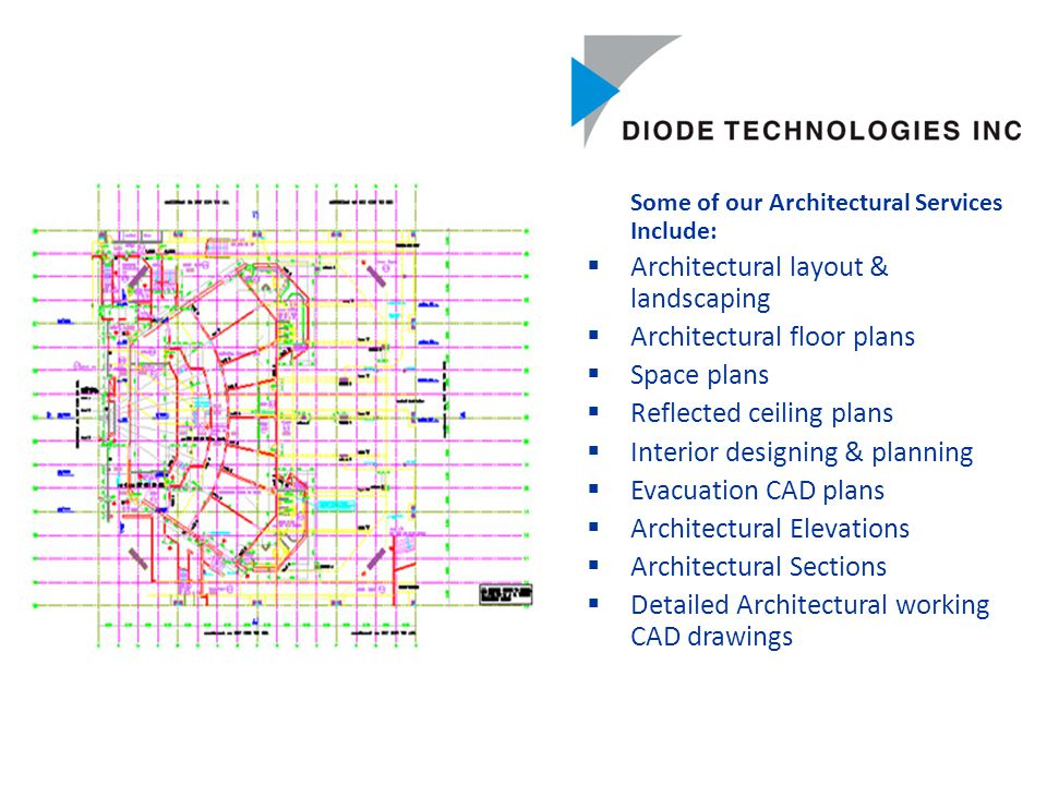 Architecture Services Architecture Services Diode with its associates work closely with clients to provide state-of-the art facility to create 3-Dimensional Fly Around perspective models using MicroStation based software solutions 3D Modeling of Buildings 3D Landscape Modeling 3D 'Fly Around' and walk-through of Buildings