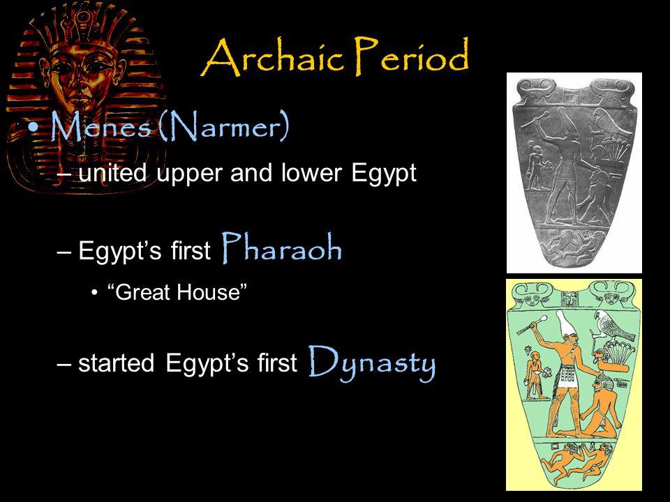 The Old Kingdom 2686 – 2181 BC