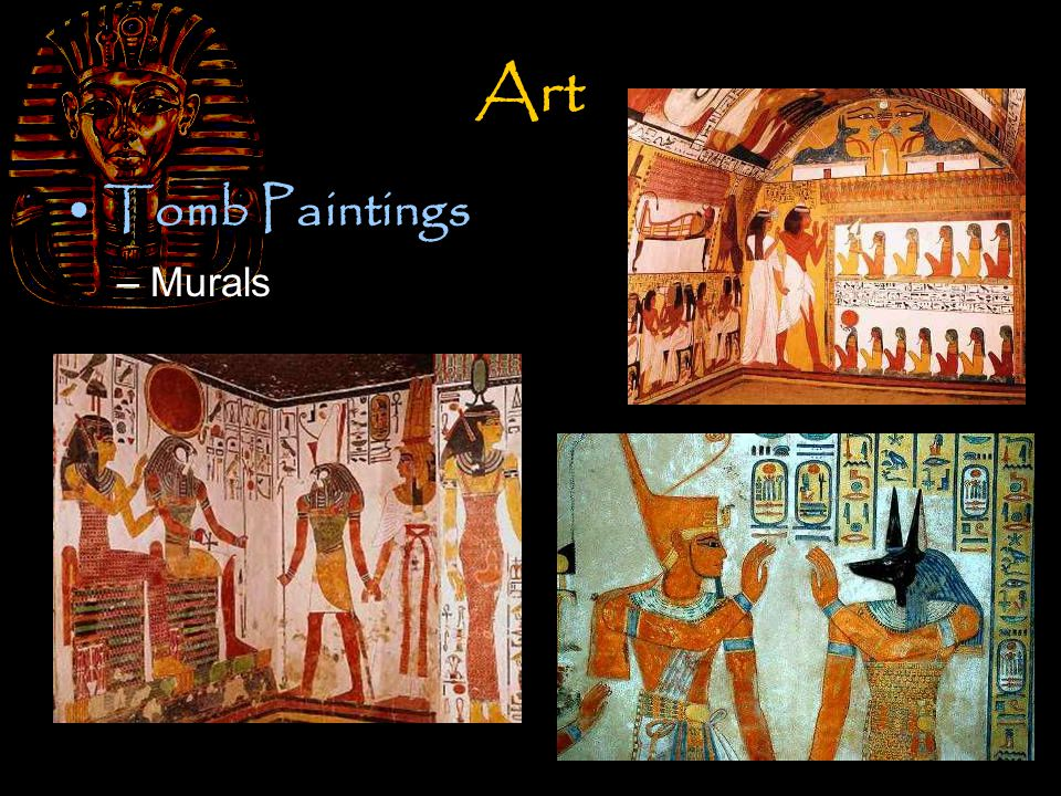 Art Tomb Paintings –Murals