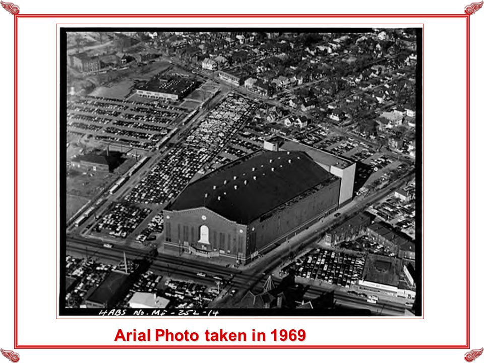 Arial Photo taken in 1969