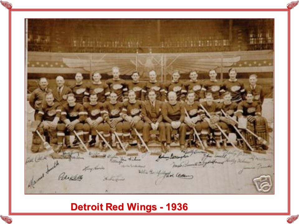 Detroit Red Wings - 1936