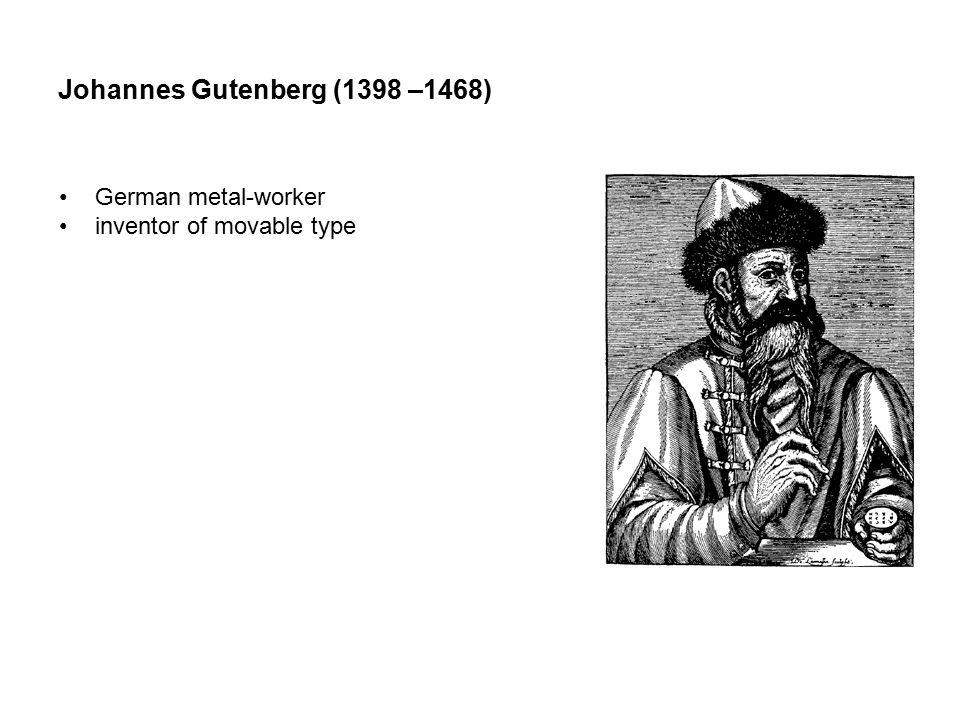 Gutenberg Bibles. February 23, 1455