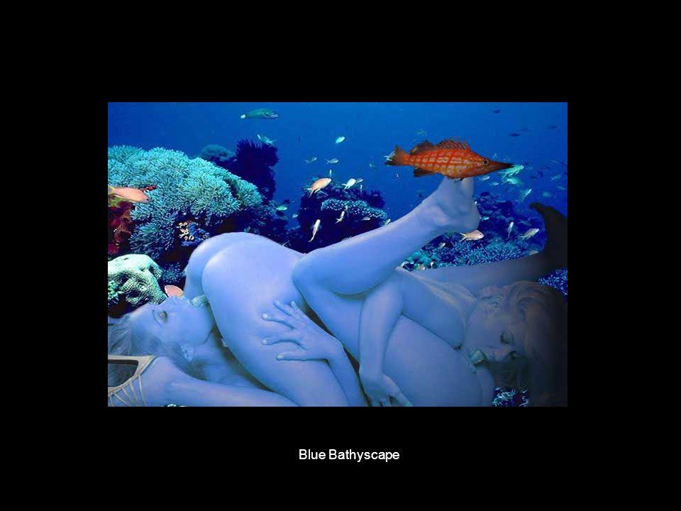 Blue Bathyscape
