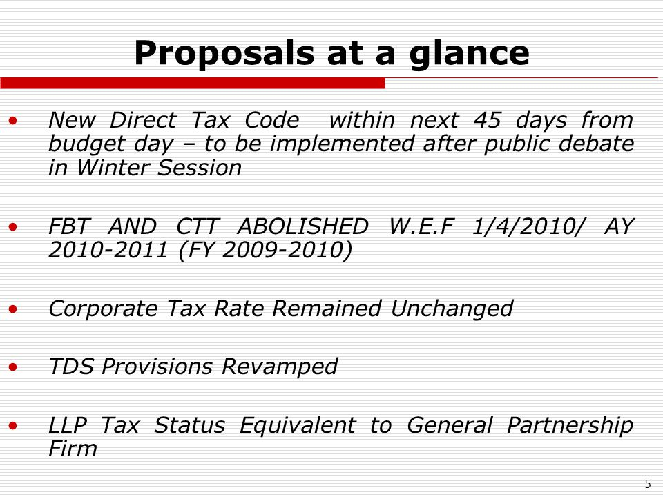 16 Clause by Clause Analysis Section 115BBC: Anonymous Donations : Tax Relief in certain cases (clause 42) FROM AY 2010-2011 ParticularEarlier limitAmendment proposed Exemption for Anonymous Donations to certain limit Zero/NilAnonymous donations exempt Upto 5% of Total Income of trust or INR 100,000 whichever is more