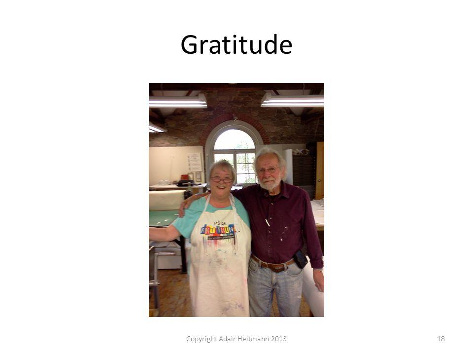 Gratitude Copyright Adair Heitmann 201318