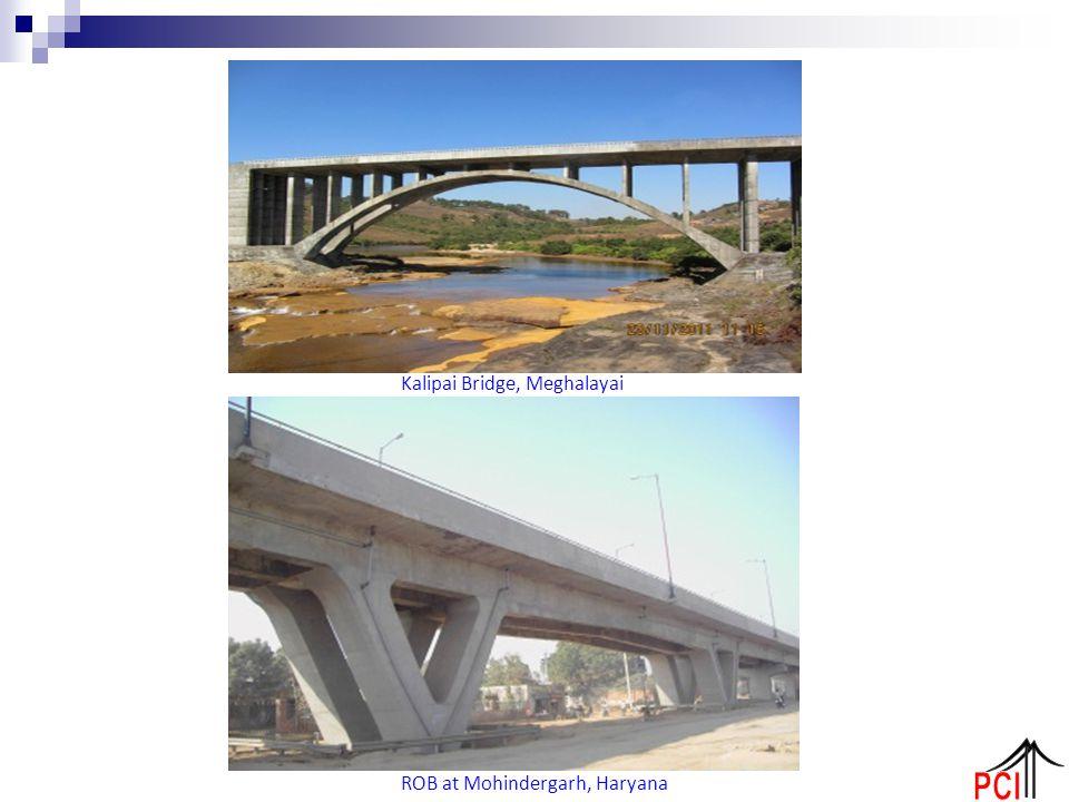 Kalipai Bridge, Meghalayai ROB at Mohindergarh, Haryana
