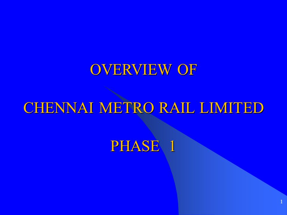 62 Progress - Civil Contracts Elevated : - 3 Viaduct contracts – work in progress - 2 Elevated station contracts (10 stations)- awarded - 2 Elevated station contracts ( 3 stations)- tender will be called for shortly - Depot – Tender return early August 2010 Under Ground : - 5 Contract packages (19 stations and 18km tunnels)- Tender return early August 2010