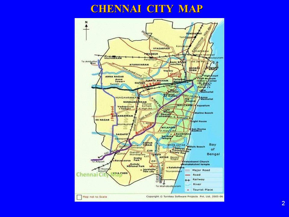 U/G Station Elevated Station 23 CHENNAI METRO RAIL ALIGNMENT