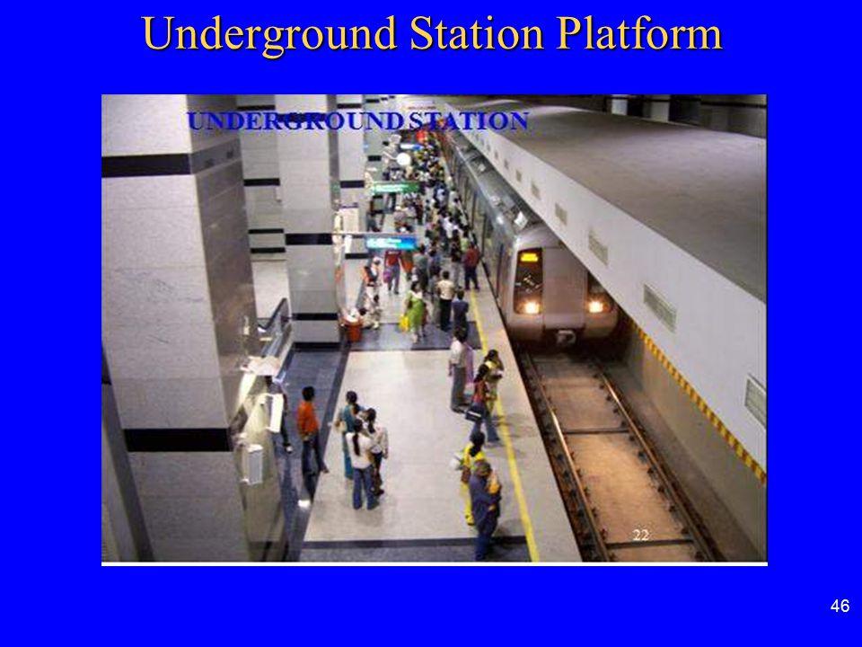 46 Underground Station Platform