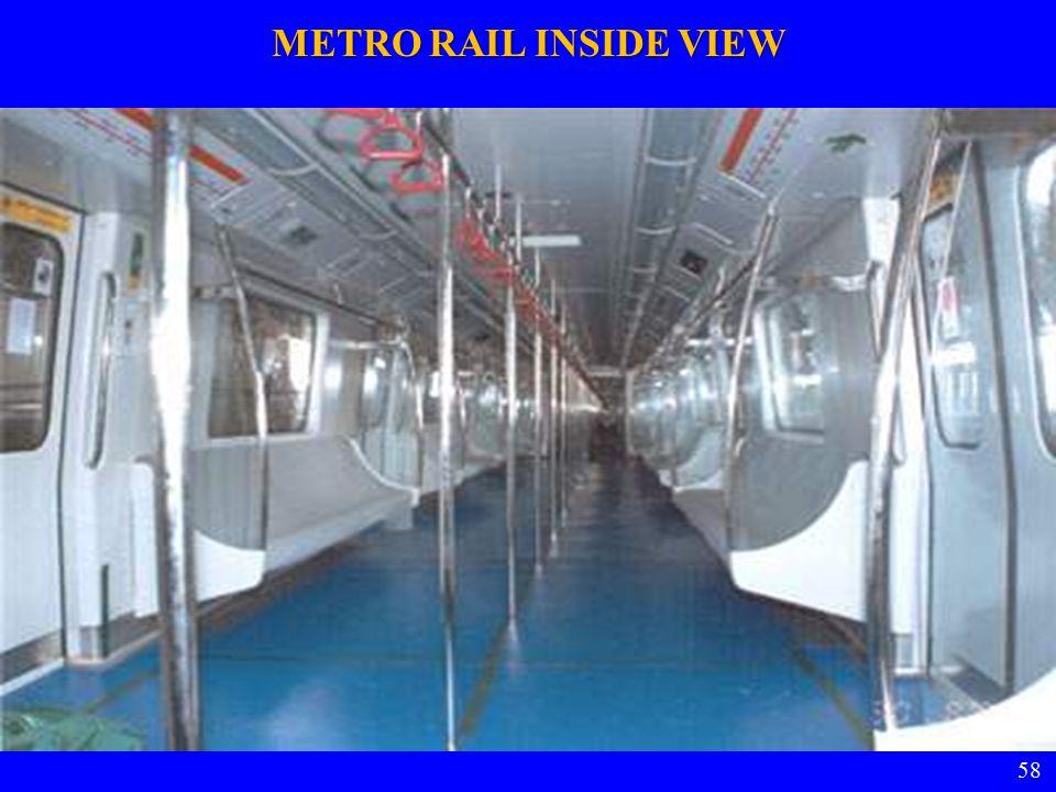 58 METRO RAIL INSIDE VIEW 58
