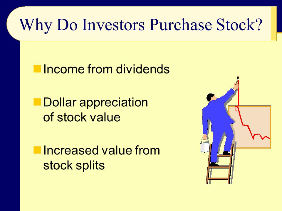 Why Do Investors Purchase Stock.