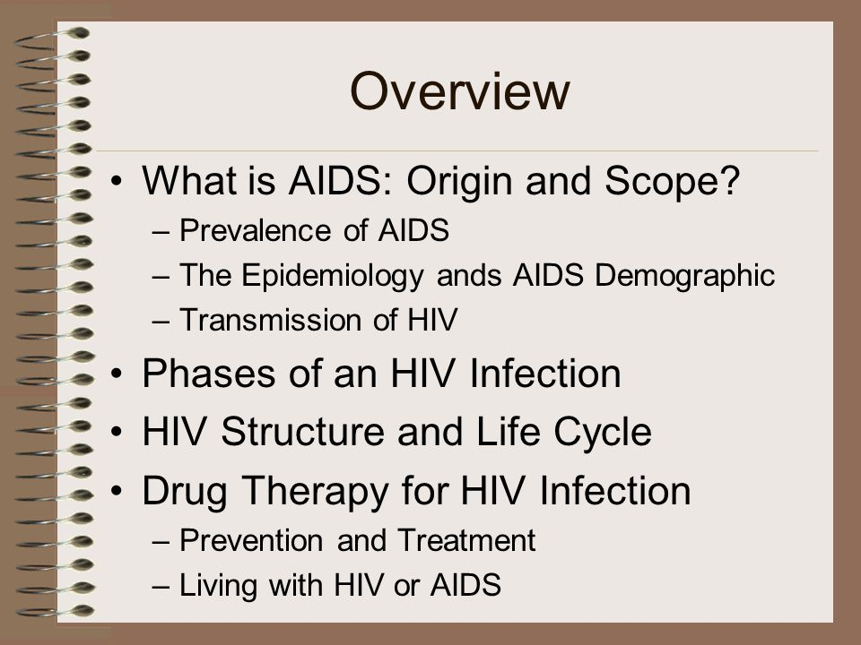 Overview What is AIDS: Origin and Scope.