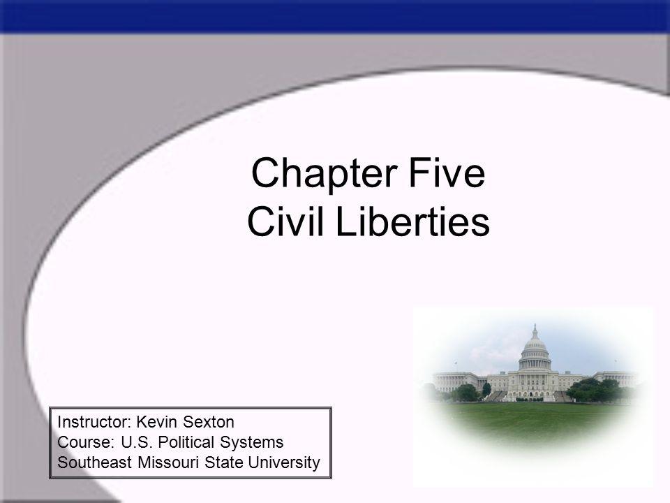 Civil Liberties versus Civil Rights Civil Liberties deal with the Bill of Rights.