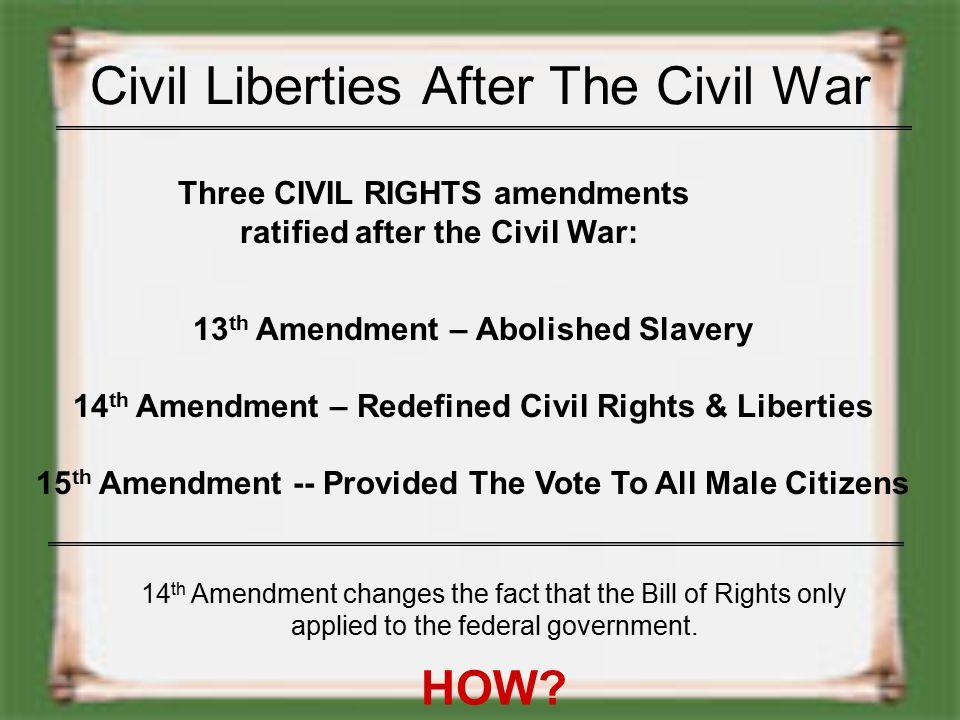 Due Process Clause Both the 5 th and 14 th Amendment addresses due process. 5 th Amendment – ...