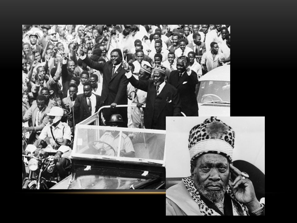 INDEPENDENCE AND HARDSHIP The Case of Kenya A bi-product of African Nationalism A struggle that was violent Clashes broke out between white settlers and black nationalists Kikuyu violence led to the British suppressing all nationalistm Jomo Kenyatta Battles…12,000 Kenyan casualties, 100 British Yet they broke the British will to fight