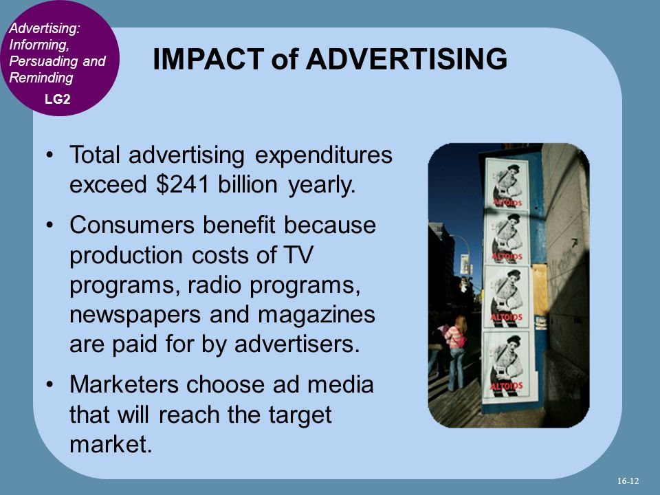 Total advertising expenditures exceed $241 billion yearly.