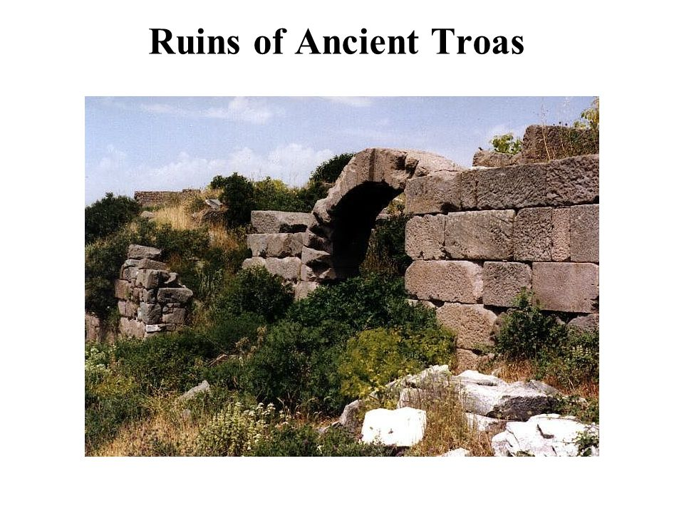 Ruins of Ancient Troas