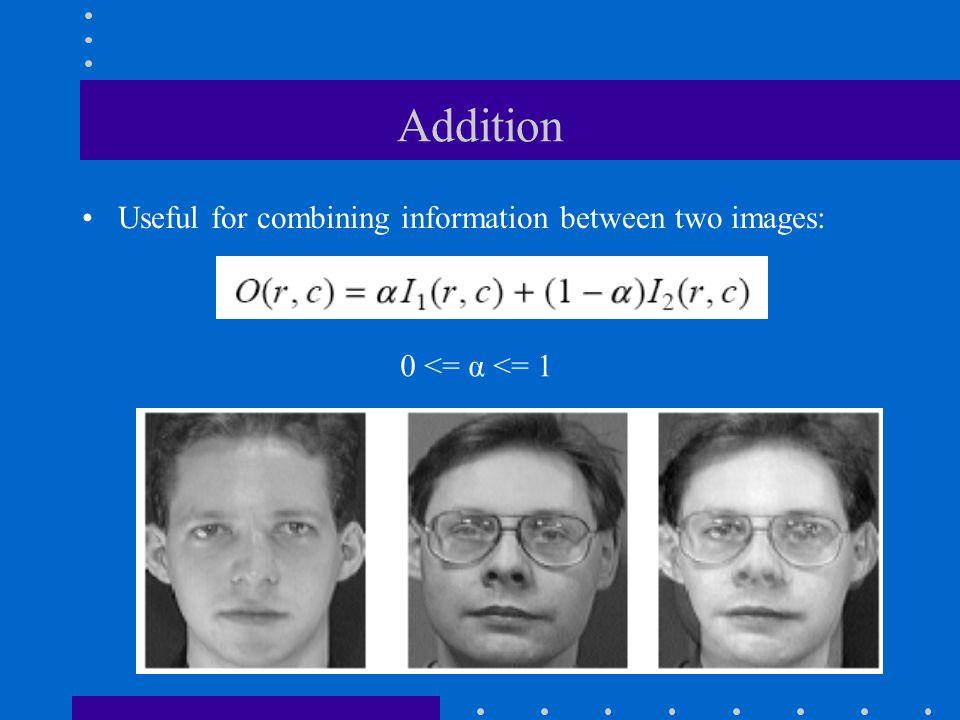 Interpolation (cont'd) First-order interpolation: average
