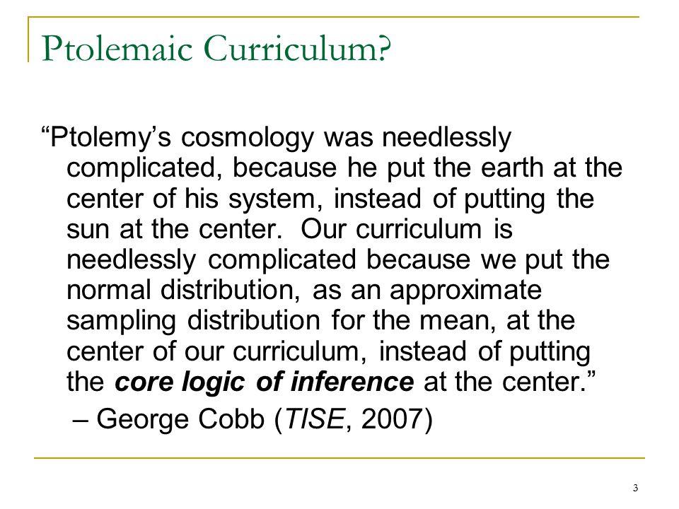 3 3 Ptolemaic Curriculum.