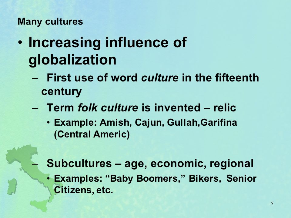 Interaction and difference Introduction –Core beliefs in folk culture limit degree of environmental disturbance –Popular culture has potential, through interaction, to cause massive restructuring 76