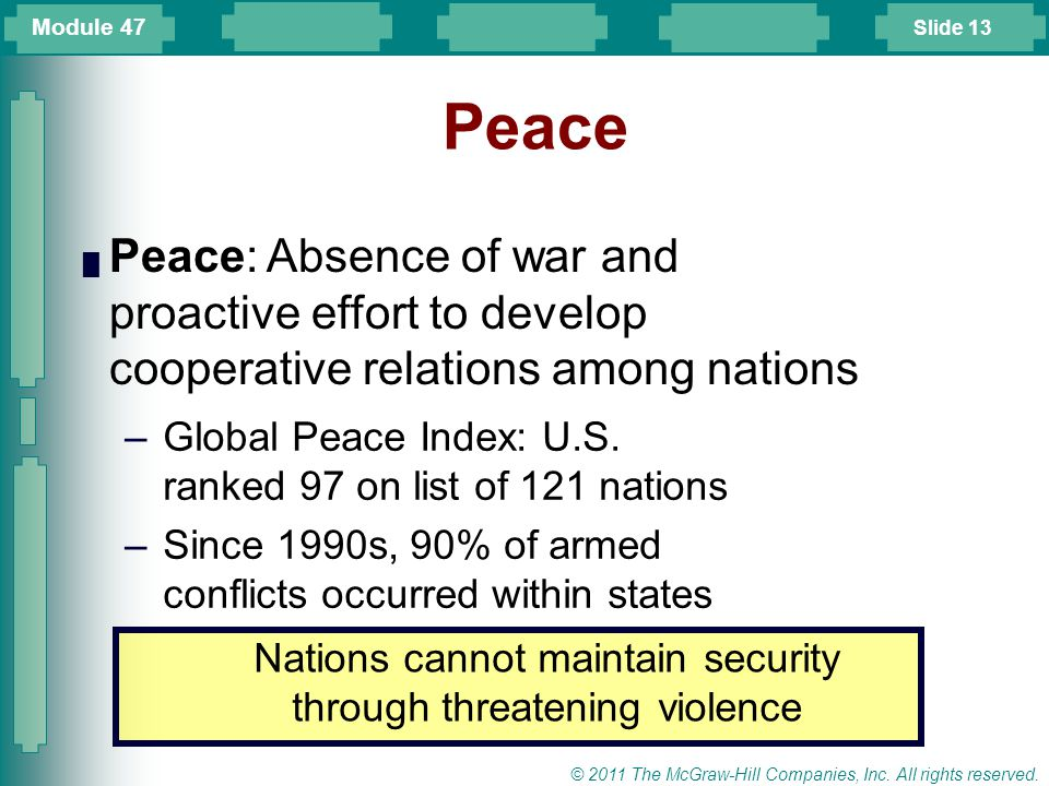 Slide 14 © 2011 The McGraw-Hill Companies, Inc.All rights reserved.