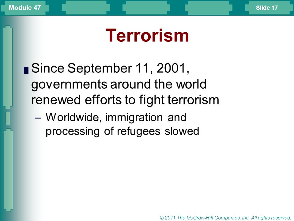 Slide 18 © 2011 The McGraw-Hill Companies, Inc.All rights reserved.