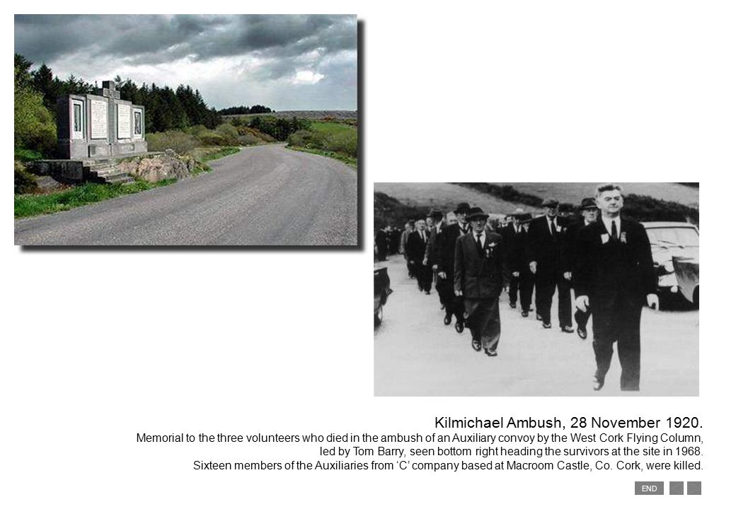 END Kilmichael Ambush, 28 November 1920.