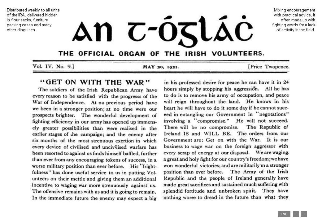 END British administration under siege, winter 1920.