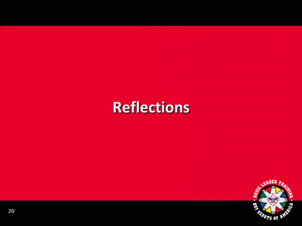 ReflectionsReflections 20