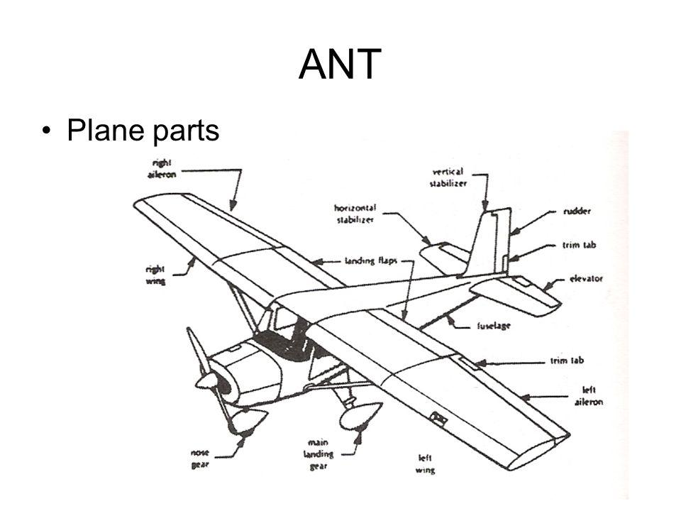 ANT Plane parts