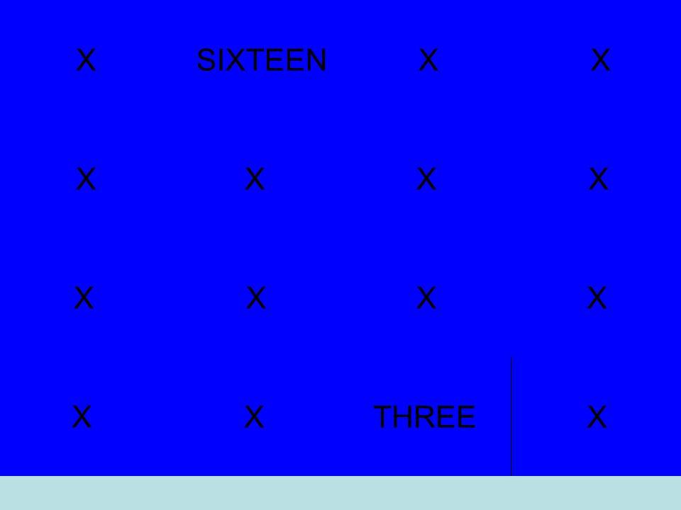 X THREEX X XXX X XX XflowXX X SIXTEEN X