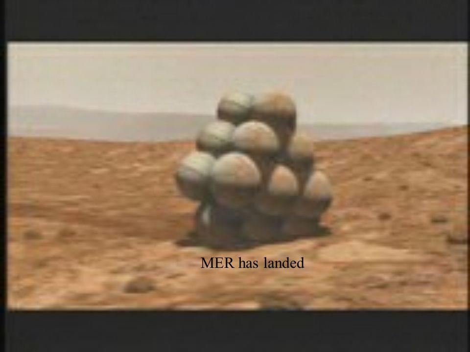 MER has landed