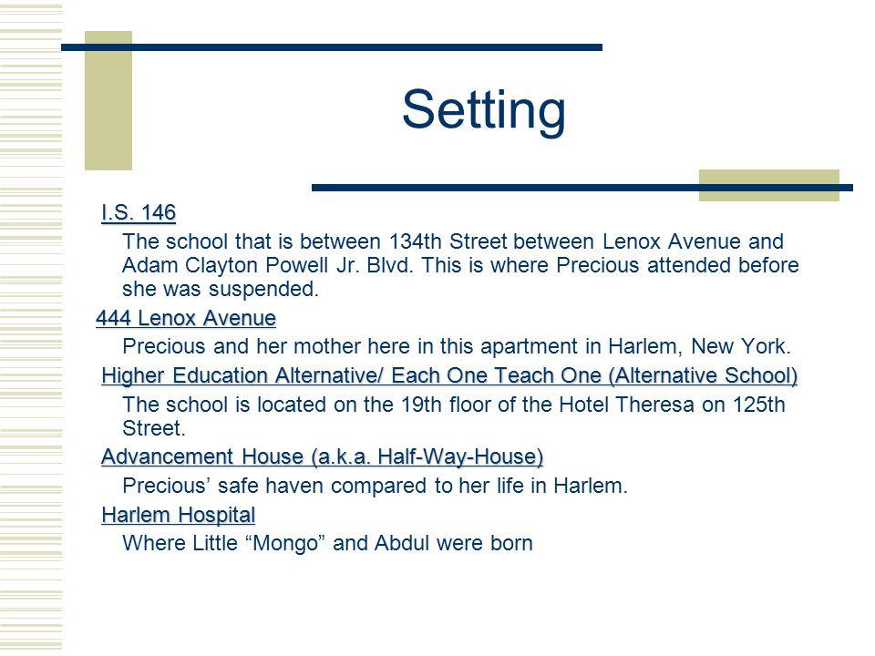 Setting I.S. 146 I.S.