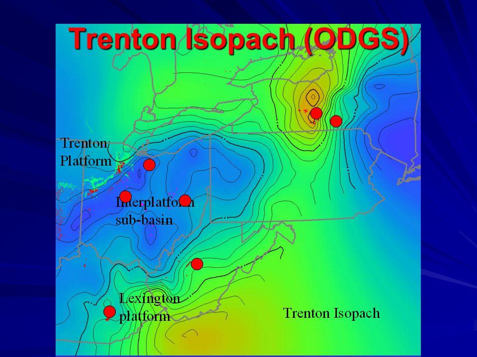 Trenton Isopach (ODGS)