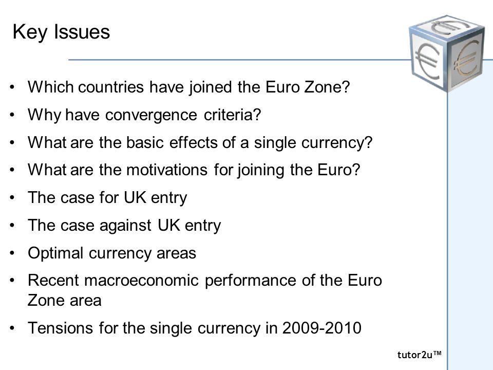 tutor2u ™ tutor2u ™ Euro Zone Interest Rates